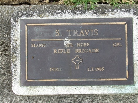 Image of Gravestone at Waikaraka Cemetery provided by Paul Baker March 2013 - No known copyright restrictions