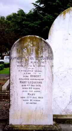 Headstone, Hastings Cemetery - No known copyright restrictions