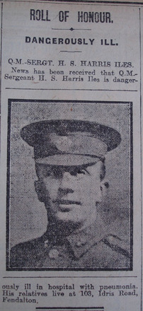 Portrait, Casualty Notice The Star, 4 January 1919 - No known copyright restrictions