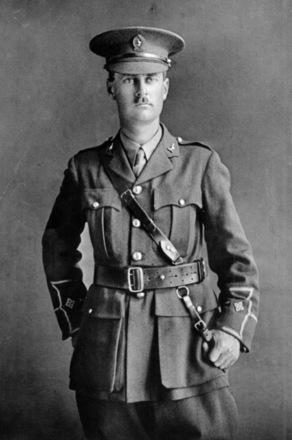 Portrait, Second Lieutenant Harold Dixon Buddle - No known copyright restrictions