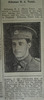 Portrait, Casualty Notice The Star, 9 May 1918 - No known copyright restrictions