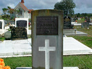 Headstone of K. BROWN 19695 at Awanui, Northland - No known copyright restrictions