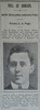 Portrait, Casualty Notice The Star, 16 April 1918 - No known copyright restrictions