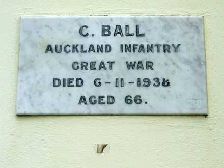 Image of Gravestone at Waikaraka Park Cemetery provided by Paul Baker March 2013 - No known copyright restrictions