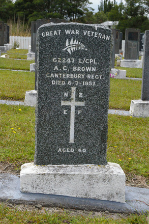 Headstone, Mt Wesley Cemetery, Dargaville (photo J. Halpin 2012) - No known copyright restrictions