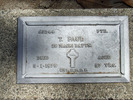 Image of Gravestone at Rotorua Cemetery provided by Paul Baker February 2013 - This image may be subject to copyright