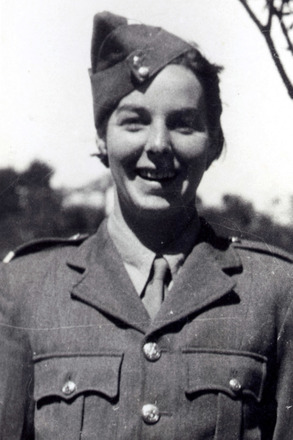 Portrait in uniform - This image may be subject to copyright