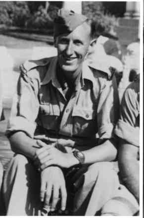 Portrai, in uniform taken in 1942, Cairo - This image may be subject to copyright