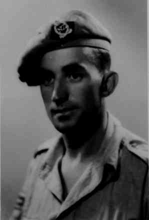 Mr Barrow at Venice, Italy in 1945 whilst he was serving in 6 Field Regiment (29 Battery 'B' Troop) during World War 2 - This image may be subject to copyright