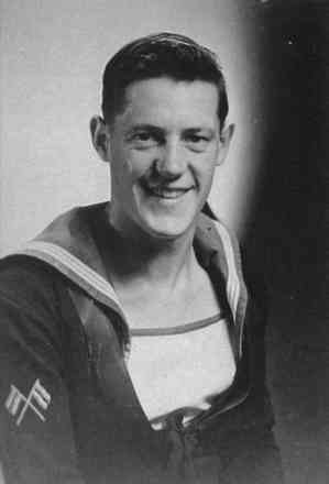 Portrait, Graham Carkeek, taken when on final leave in 1943 aged sixteen. - This image may be subject to copyright