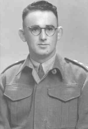 Major Hayton about 1944. - This image may be subject to copyright