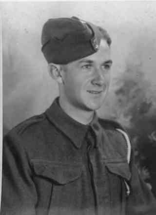 Portrait, Driver Maxwell in 1942 - This image may be subject to copyright