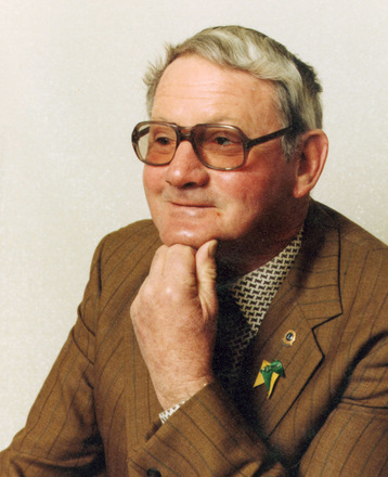 Maurice John Robertson in his retirement - This image may be subject to copyright
