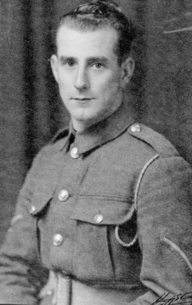 Portrait, Victor Griffiths in uniform - This image may be subject to copyright