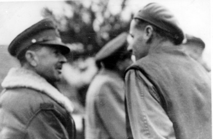 Portrait, Richard Spence Volkman Simpson (left) and unnamed soldier - This image may be subject to copyright