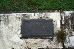 Memorial plaque, Onetangi Cemetery, Waiheke Island (photo P. Baker 2008) - This image may be subject to copyright
