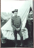 Portrait, Boer War, standing outside a tent, (photo kindly provided by C. Callow) - No known copyright restrictions