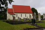 St Michael's Anglican Church and churchyard, Hakaru (photo J. Halpin 2011) - No known copyright restrictions - No known copyright restrictions