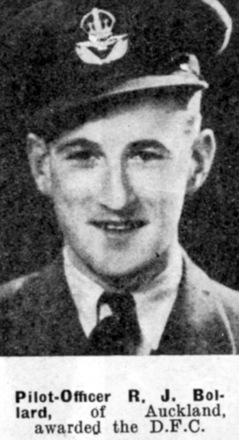 Portrait from The Weekly News; 27 August 1941 (Awarded Distinguished Flying Cross (DFC)) - This image may be subject to copyright