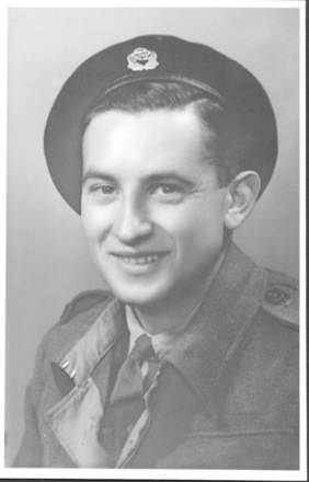 Portrait, WW2, studio photograph wearing jacket - This image may be subject to copyright