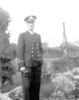 Portrait, RNVR uniform, England May 1944 - This image may be subject to copyright