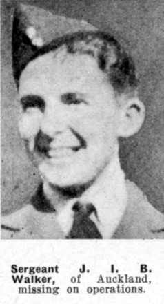 Portrait from The Weekly News; 27 August 1941. Reported missing - This image may be subject to copyright