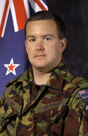 Portrait (Photograph © Crown Copyright. New Zealand Defence Force 2009 www.nzdf.mil.nz)