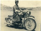Portrait, Despatch rider, Egypt - This image may be subject to copyright