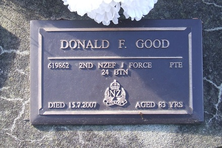 Image of Gravestone at Mangere Lawn Cemetery provided by Paul Baker July 2013 - This image may be subject to copyright