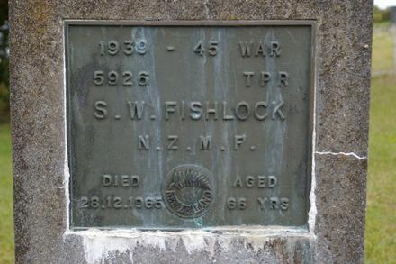Headstone, detail Te Arai Cemetery (photo J. Halpin 2010) - This image may be subject to copyright