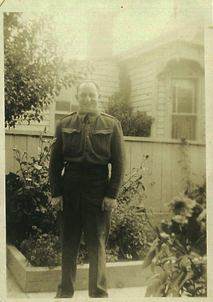 Portrait taken at their home in Herne Bay (kindly provided by family) - This image may be subject to copyright