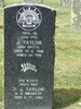 Image of gravestone at Karori Cemetery provided by Paul Baker December 2012 - This image may be subject to copyright