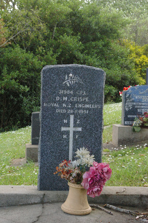 Headstone, St Brides Church of England Cemetery, Mauku, New Zealand - No known copyright restrictions