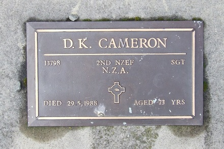 Image of Gravestone at Lyttelton Catholic & Public Cemetery provided by Paul Baker June 2013 - This image may be subject to copyright