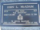 Gravestone Te Awamutu Cemetery John Loudon McAdam (24138) - This image may be subject to copyright