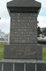 Matakohe War Memorial, WW1, dedication panel (photo John Halpin 2010) - CC BY John Halpin