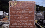 Image of memorial stone at Kaurihohore Cemetery provided by Ross Beddows - No known copyright restrictions
