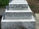 Image of Inscription on family monument at Purewa Cemetery provided by Paul Baker December 2013 - No known copyright restrictions