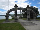 Hokianga Arch of Remembrance, Kohukohu (supplied by G.A. Fortune in 2008.) - Image has All Rights Reserved