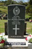 Close view, headstone, Waikumete Cemetery, Auckland (photo J. Halpin 2012) - This image may be subject to copyright