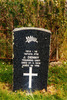 Headstone, O'Neills Point Cemetery (photo Paul Baker 2002) - No known copyright restrictions