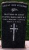 Gravestone, Karori Cemetery (photo Paul F. Baker) - No known copyright restrictions