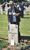 Headstone, Cassino - This image may be subject to copyright