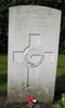 Headstone, Jonkerbos War Cemetery. Photo N. Fisher A. Jackson 2006 - This image may be subject to copyright