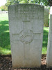 Headstone, Cassino War Cemetery, Italy (photo B. Coutts, 2009) - This image may be subject to copyright