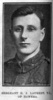 Portrait, Sergeant H.J. Laurent, VC from Hawera, The Auckland Weekly News, November 28, 1918. - No known copyright restrictions