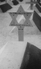 Wooden grave marker in shape of Star of David, Philip Braham Levy (22984), Heliopolis War Cemetery, Egypt (photo taken by Lt Col. Sydney Josland nd) - This image may be subject to copyright