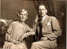 Group, WW2, couple Frank Cook and his wife Lynda 1930 (kindly provided by family) - This image may be subject to copyright