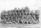 Group, WW1, Company formal photograph. Scanned from photocopy - No known copyright restrictions