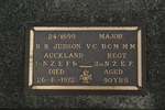 Headstone, Waikumete Cemetery (photo J. Halpin 2011) - No known copyright restrictions